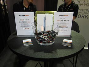 Great inbound marketing the silo busting imperative drop your business card in our fishbowl for a chance to win an ipad colourmoves