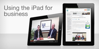 Using the iPad for business